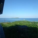 栄丸民宿 - 窓の外には焼尻島