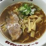 味特 - 醤油ラーメン700円