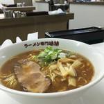 味特 - 料理写真:2016/07 醤油ラーメン700円