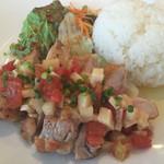 カルナバル - 若鶏のソテー オリエンタルサルサ(1,000円)