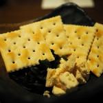 酒肴菜や 利一 - クリームチーズの味噌漬け
