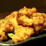 酒肴菜や 利一 - 若鶏の唐揚げ¥580