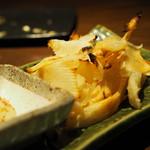 酒肴菜や 利一 - 炙りエイヒレ¥580