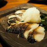 酒肴菜や 利一 - 炙りしめ鯖