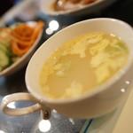 マリブ喫茶 - スープ