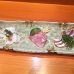 さぬきや - 「本日のお勧め鮮魚造り」1,380円