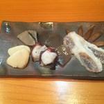 さぬきや - 「自家製燻製盛り合わせ」730円
