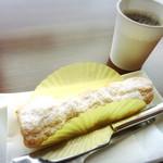 タルトタタン - 料理写真:コロネパイ & 無料コーヒー!