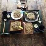 ざる蕎麦せと - 料理写真:二人で4種をシェア