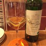 肉焼屋ワイン部 ジャストMEAT  - フランスの白ワイン。<2016/7/10>