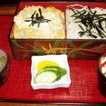 豊年屋 - 料理写真:親子丼とざるそばセット