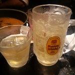 美山 - ゆずのお酒と焼酎