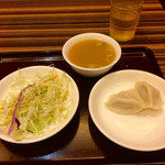 53502381 - 皇帝口水鳥(よだれ鶏)+ご飯セット(800円)