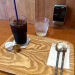 スイーツリングカフェ - 先にアイスコーヒーが。<2016/7/14>
