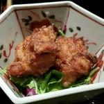 能登輪島 - 小鉢は若鶏の唐揚げを選択
