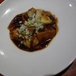 魚China YO - シェフお勧めのディナーコース 魚介の麻婆豆腐
