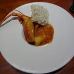 魚China YO - シェフお勧めのディナーコース 伊勢海老のチリソース煮込み