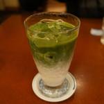 浪花家総本店 - アイス 抹茶ミルク