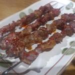 馬記 蒙古肉餅 - ・羊肉串 120円×4