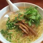 麺処くげ麺 - 料理写真:藻塩麺大盛り