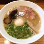 麺や 一想 - 鶏白湯 醤油(煮玉子トッピング)