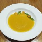 シャトン - 田村農園産有機栽培ニンジンのスープ