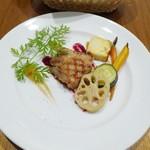 シャトン - 花巻産やわらか白金豚の低温ロースグリル仕立て