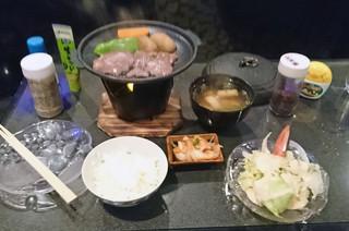 IZACKたまかま - 牛フィレステーキ定食が500円ぽっきり