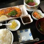 海産物 えんがん - 海産物えんがん(イセエビウニ焼定食)