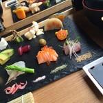 爐庵 - OYOBARE御膳は旬なお野菜と手作りのお料理がちょっとずつたくさん!