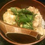 旬の魚と旨い地鶏 魚鶏屋 - 親子丼(ハーフ)