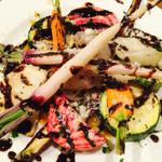 53521702 - ルコラステーションの野菜のグリル