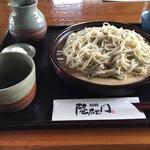 蕎麦 陸右エ門 - 細打ちの「ざる」(900円)