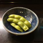 53524771 - 八寸に盛られる筈だった茶豆