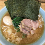 横浜家系 侍 - ラーメン+6・3・たまご(味濃いめ)