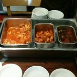 焼肉 和 - キムチ:白菜、大根、キュウリ