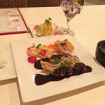 結 - 豚ミルフィーユカツレツセット1,380円