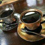 珈琲専門館 かいもん - ブレンドコーヒーとブルーマウンテン