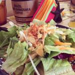 ボラーチョス - サラダ