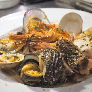 日本海の新鮮なお魚を使った海鮮イタリアン