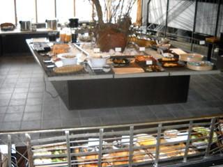隠れ房 御庭 新宿 - ブッフェ台2