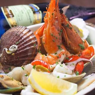 日本海漁船直送の鮮魚料理
