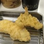 博多天ぷら なぐや - どんどん天ぷらが運ばれてくるぜ