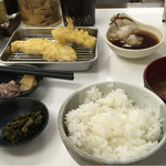 博多天ぷら なぐや - へるしー定食