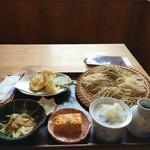 蕎庵 秀明 - 本日のランチ