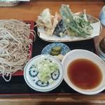 小夜 - 料理写真:天もり(えび・キス・野菜) 1140円