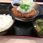 松乃家 - おろしロースかつ定食