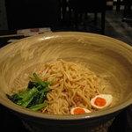 担担 - 黒胡麻つけ麺大盛・375g