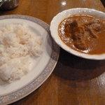 Ree Rose cafe - 2010/10 チキンカレー700円