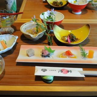 日本料理 落柿 - 料理写真:最初の膳